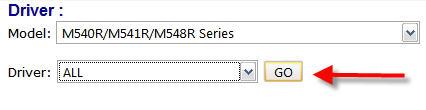 A*Note M729SR Windows 8 X64