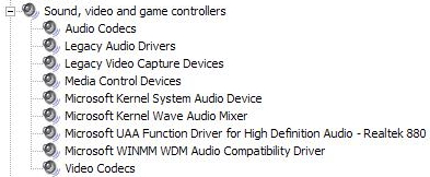 fm801 pci audio driver windows 7 download