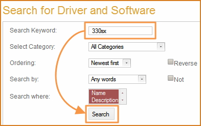 How to search drivers